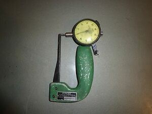 Federal Kp 102 Thickness Gage W federal C71 Dial Indicator