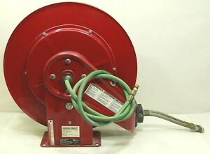 Reelcraft Tw7450 Olp 1 4 X 50ft Retractable Gas Welding Hose Reel free Shipping