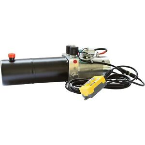 Nortrac 12 Volt Dc Hydraulic Power Unit Double acting Cylinder
