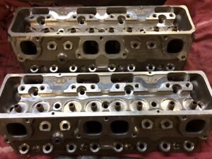 Brodix 14 Degree Small Block Chevy Aluminum Cylinder Heads Weld Tech
