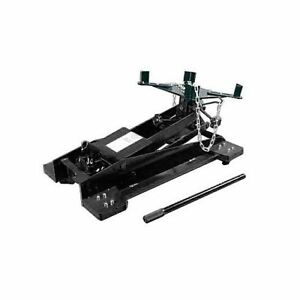 Summit Hydraulic Transmission Floor Jack 1000 Lb Capacity 8 1 4 to 24 lift Range