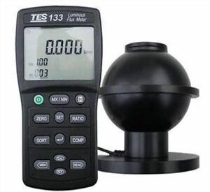 From 0 05 To 7000 Lumens Luminous Flux Meter Tes133 New Auto Ranging Tes 133 Cy