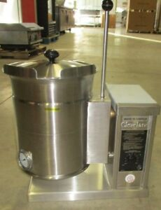 Cleveland Tilt Kettle 3 Gallon Model Ket 3t Soups Sauces pasta Restaurants