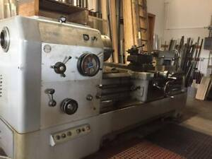 Lansing Engine Lathe 24 Swing 32 In Gap And 84 Centers