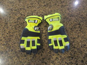 Ringers Gloves 911 Rescue Firefighter Extrication Emergency L 10 Barrier 1 Esg