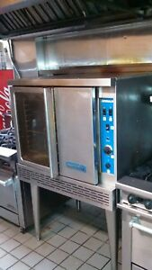 Imperial Convection Oven Icv 1 Single Commercial Natural Gas New Glass