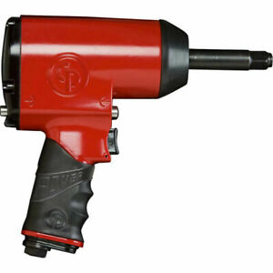 Chicago Pneumatic Cp7736 2 1 2 Air Impact Wrench With 2 Shank 670 Ft Lbs