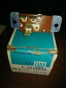 Nos 1964 1972 Chevrolet Truck Van Heater Switch 3840039