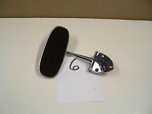 Vintage Oem Rear View Mirror 113857511a 6