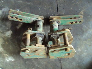John Deere 801 Top Link Support Brackets