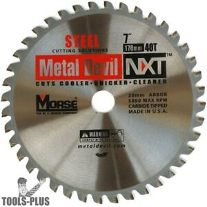 Mk Morse Csm740nsc 7 40t Metal Devil Nxt Steel Cutting Circular Saw Blade New