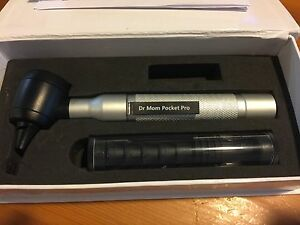 4th Generation Dr Mom Led Pocket Pro Otoscope In Foam Lined Case