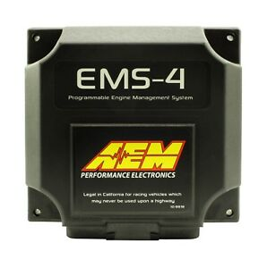 Aem 30 6905 Ems 4 Universal Ecu Ems4 Engine Management Computer 4cyl
