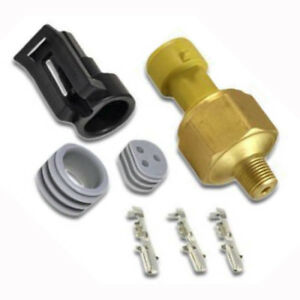 Aem 30 2131 30 2 Bar Map Sensor Brass Kit Oil Fluid Pressure 1 8in Npt