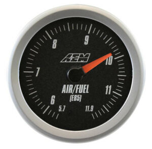 Aem 30 5143 Analog E85 Wideband Uego Gauge Kit 5 7 11 9 E85 Afr