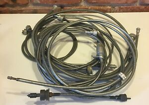 8 Nos Misc Speedometer Cables