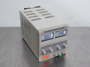 T150508 Unbranded Hy3005d Dc Power Supply 0 30v 0 5a