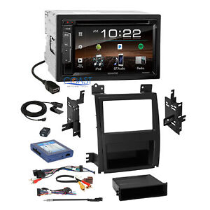 Kenwood Dvd Sirius Stereo 2din Dash Kit Bose Harness For 07 Cadillac Escalade