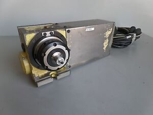 Nikken Cnc100fa 5c Indexer 4th Axis With Haas Brushless Sigma 1 Motor Arpi
