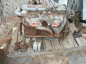 Mg C Long Block Engine With Head Extra Parts