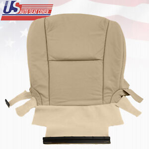 Fits 2006 Lexus Gs430 Driver Bottom Leather Perforated Seat Cover In Color Tan