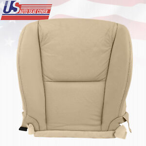 Fit 2007 Lexus Gs350 Front Left Driver Bottom Leather Perforated Seat Cover Tan
