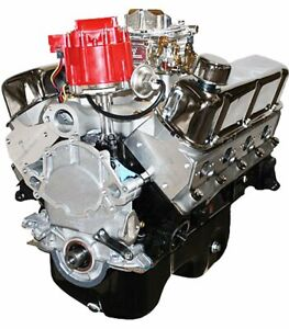Ford 347c i Stroker Crate Engine Dressed Longblock With Carb Aluminum Heads