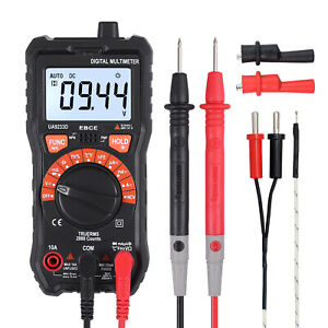 Digital Multimeter True Rms Ncv Ac dc Voltage Current Resistance Auto Ranging