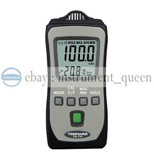 Tenmars Tm 730 Pocket Size Temperature Humidity Meter hvac Inspection