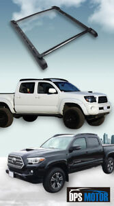 Oe Style Roof Rail Rack Cross Bars Luggage For 05 18 Toyota Tacoma Double Cab