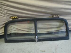 1949 1950 1951 Ford And Merc Woodie Upper Tail Gate With Hinges An Glass