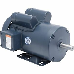 Leeson Woodworking Electric Motor 3 Hp 3450 Rpm 230 Volts Single Phase