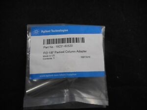 Agilent Metal Fid npd Adapter For 1 8 Packed Columns 19231 80520
