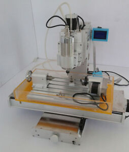 4 Axis Engraving Machine High pricision Ball Screw Column Cnc 3040 Router Table