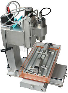 Cnc Router Table 4 Axis Engraving Machine High pricision Ball Screw Column Type