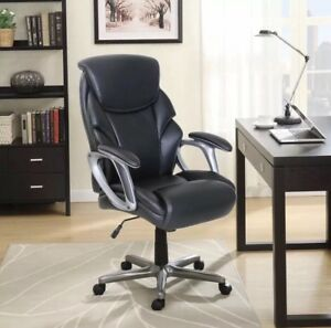 Serta Big And Tall Commercial Office Chair With Memory Foam black