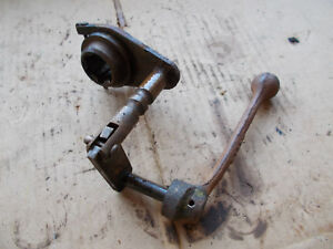 John Deere M Belt Pulley Shafter Lever And Linkage
