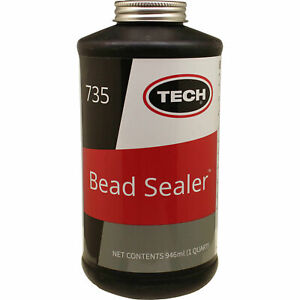 Tech Tire Repair 735 32 Oz Bead Sealer With Brush Top Can