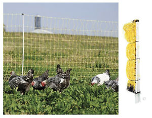 Poultry Net Electric Fence Duck Sheep Chicken Pig Outdoor Fencing Large Cage 48