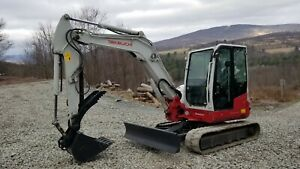 Bobcat 435g Excavator Cab Heat A c Hydraulic Thumb Only 904 Hours Exceptional