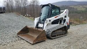 Bobcat 328g Excavator Long Arm Hydraulic Thumb Low Hours Ready To Work