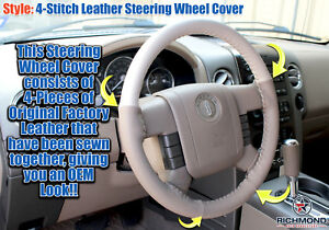 2006 Lincoln Mark Lt 2wd 4x4 tan Leather Steering Wheel Cover W needle