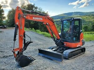 Bobcat 430g Excavator Cab Heat A c Hydraulic Thumb Low Hours Ready To Work In Pa