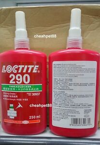 Loctite 290 Wicking Grade Medium high Strength 250mlthreadlocker 1 Bottle