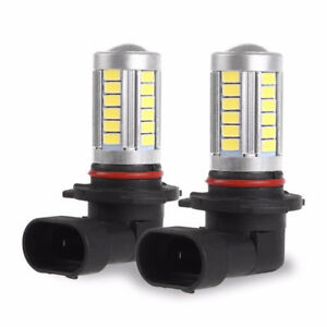 9005 Hb3 5630 33smd Led Car Driving Fog Light Headlight Bulbs White 1pc