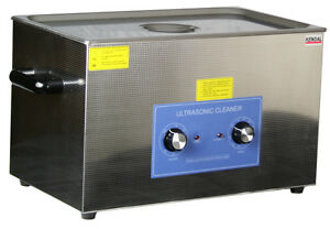 Commercial 1100 W 27 Liter 7 13 Gal Ultrasonic Cleaner W Heater Hb 27mht