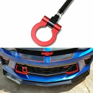 Racing Sport Aluminum Alloy Red Tow Hook Fit 2016 Chevrolet Camaro 6 Generation