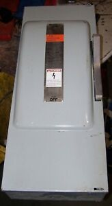 New Ite 200 Amp Non fused Safety Switch 600 Vac 150 Hp 3 Phase Nf354