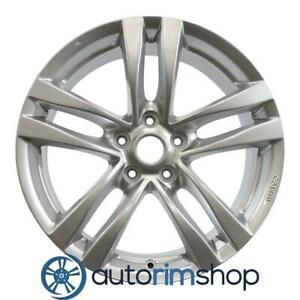 Infiniti G37 2008 2010 18 Factory Oem Rear Wheel Rim Silver