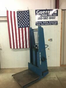 Blue Giant 1500lb Capacity Walk Behind Lift Built In Charger